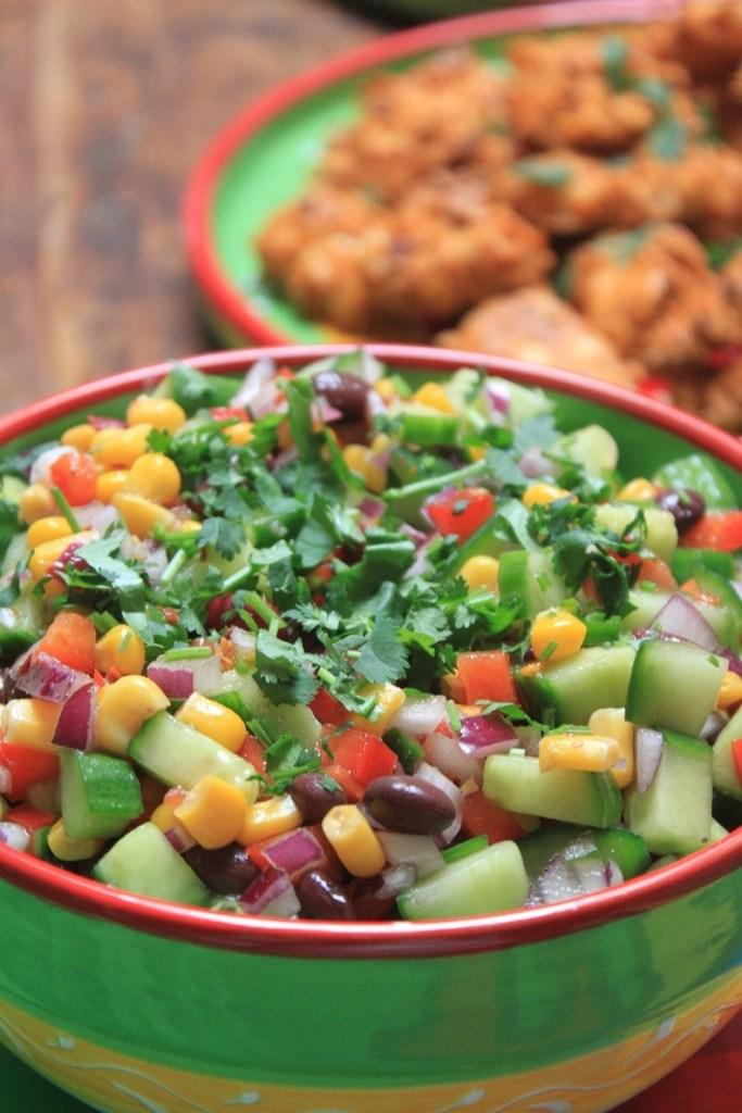 Mexicaanse fiesta Mexicaanse bonensalade met Croky Tortilla winactie op Foodblog Foodinista
