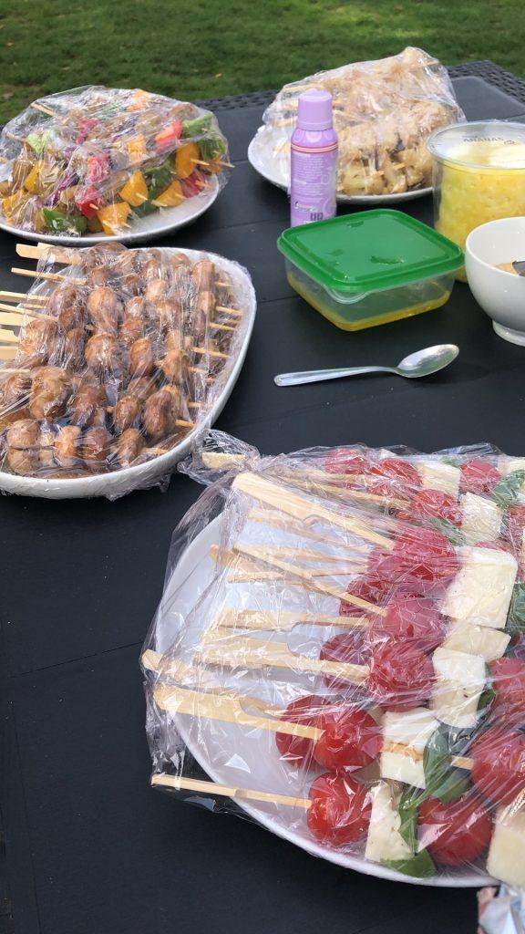 Vegetarische barbecuerecepten bloemkoolsaté foodblog Foodinista
