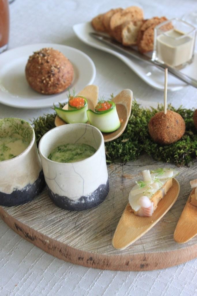 Amuses bij restaurant Du Levant in De Ardeche Frankrijk Reistips Foodblog Foodinista