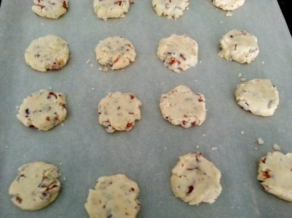 Pecan Sandies - Ready for the oven