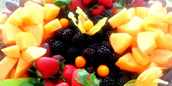 Cantaloupe, Strawberries, Blackberries, Gooseberries2