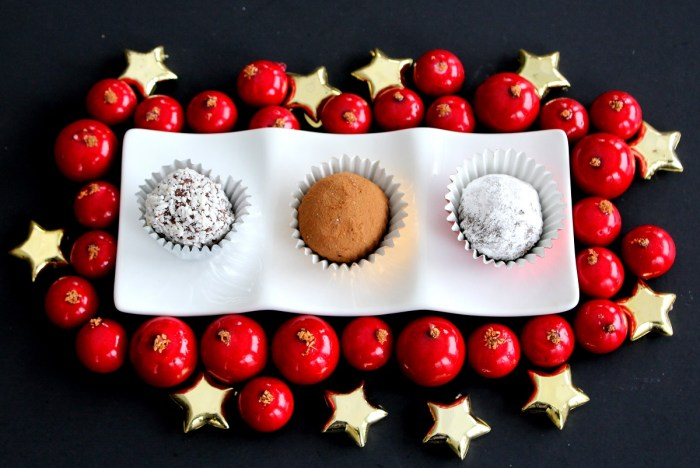 Cassis Truffles Plated 2
