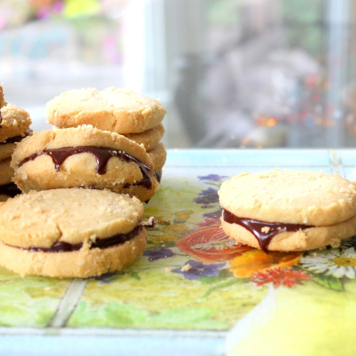 Tahini Shorbread Sandwich Cookie 2a