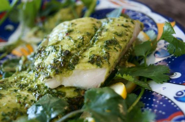 Foodista Light And Healthy Chimichurri Dover Sole
