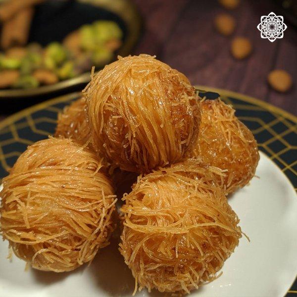 Egyptian/Middle Eastern Dessert Kunafa Balls