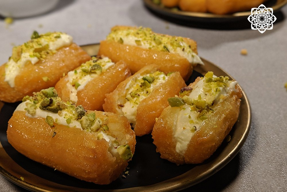 Egyptian/Middle Eastern Dessert (Choux Pastry)