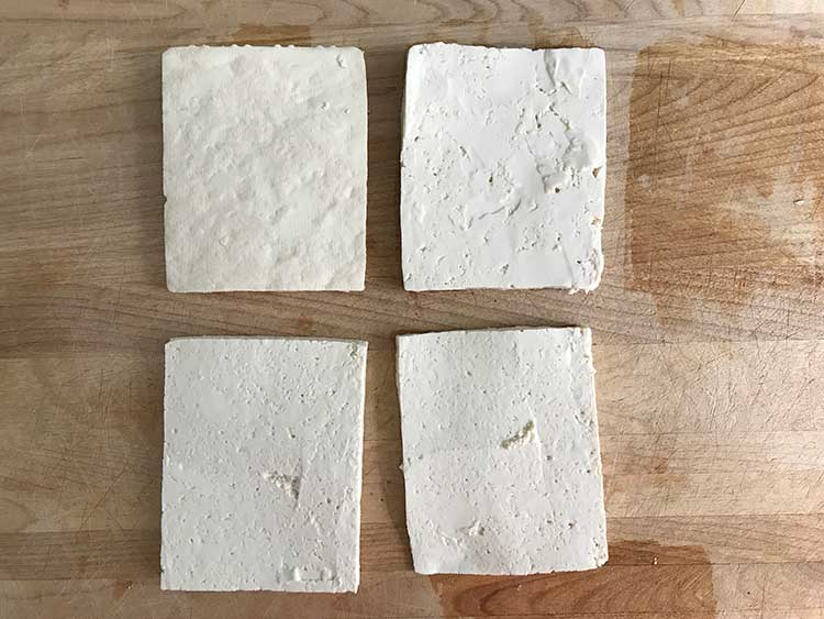 Sliced Tofu