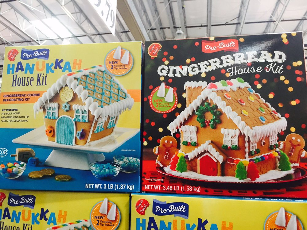 And For Those Of You Who Doesnu0027t Celebrate Christmas But Do Hanukkah, They  Had Pre Build Hanukkah House Kit Also. I Have Never Seen That Beforeu2026