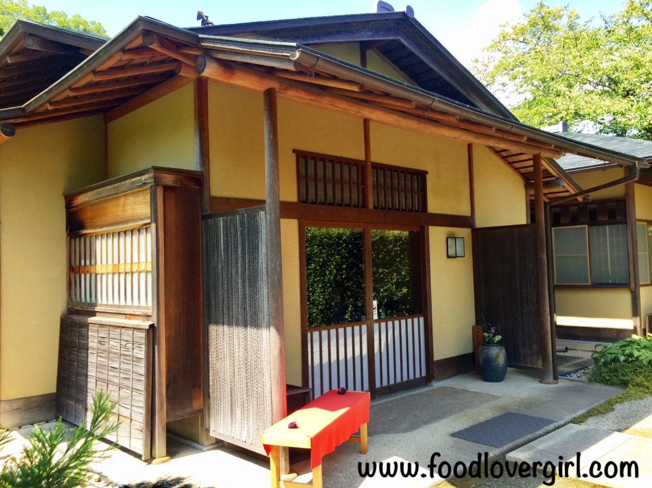 Ninomaru Tea Room @ Kakegawa Castle – Food Lover Girl