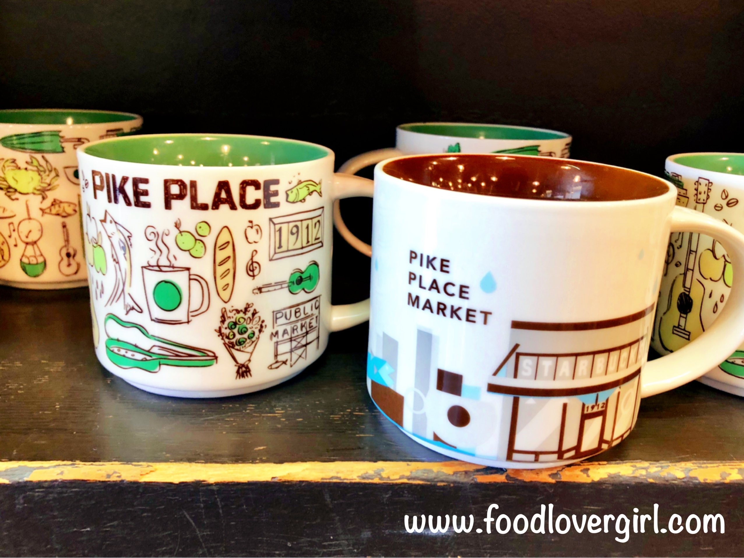 Stores In – Seattle Starbucks Food Lover Girl 7Yb6gyf