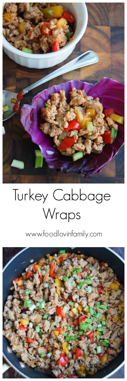 turkey cabbage wraps