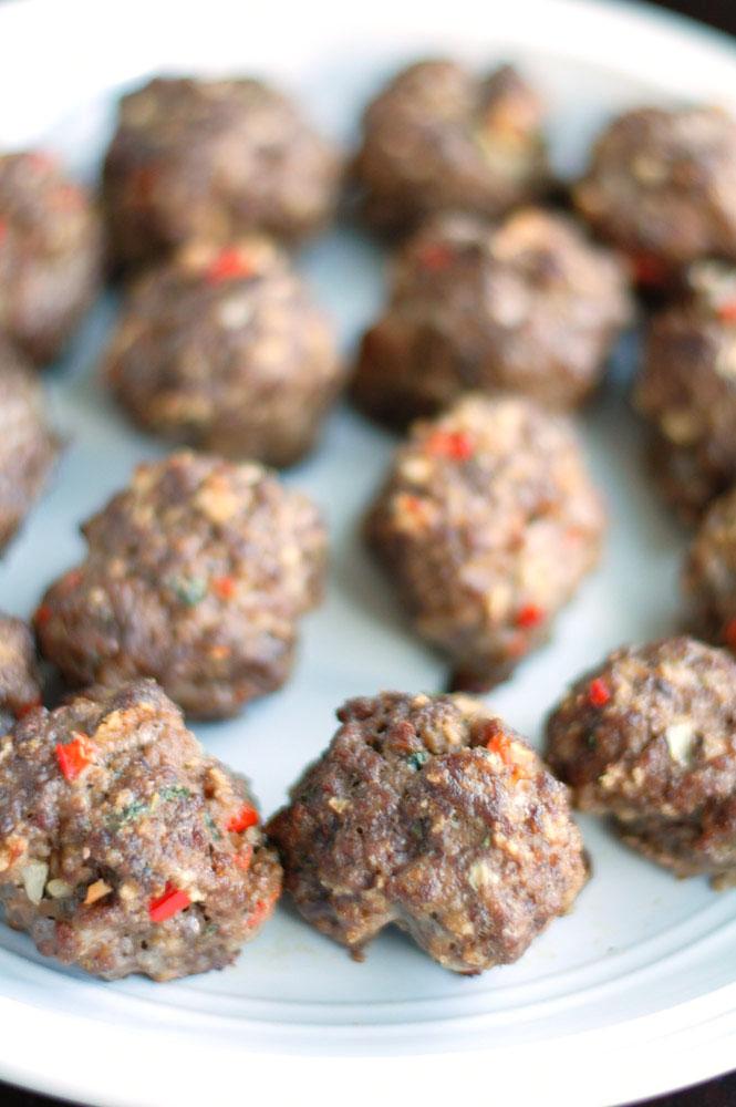 Mama's Meatloaf Meatballs
