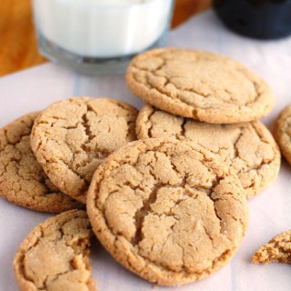 The Best Big Soft Ginger Cookies
