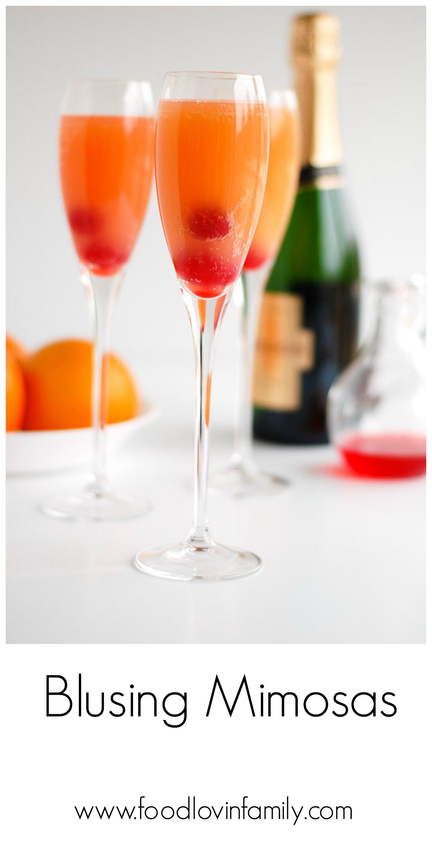blushing mimosas