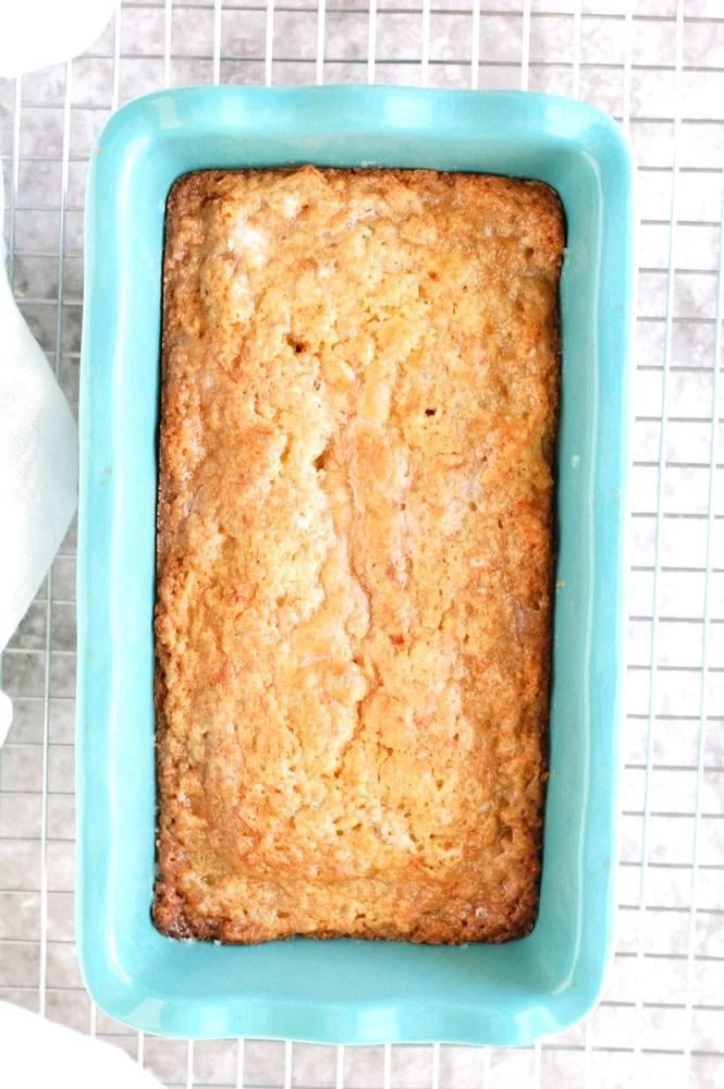 Zucchini Bread in a pan