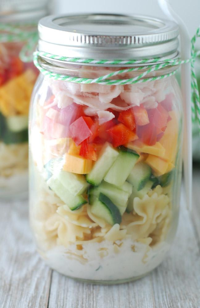 easy mason jar salad