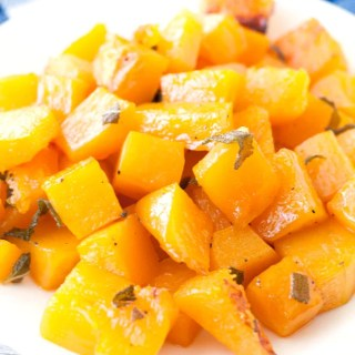 Maple Sage Roasted Butternut Squash