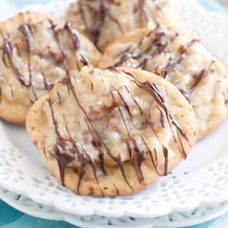 German Chocolate Chocolate Chip Cookies