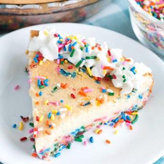 Easy Funfetti Cheesecake