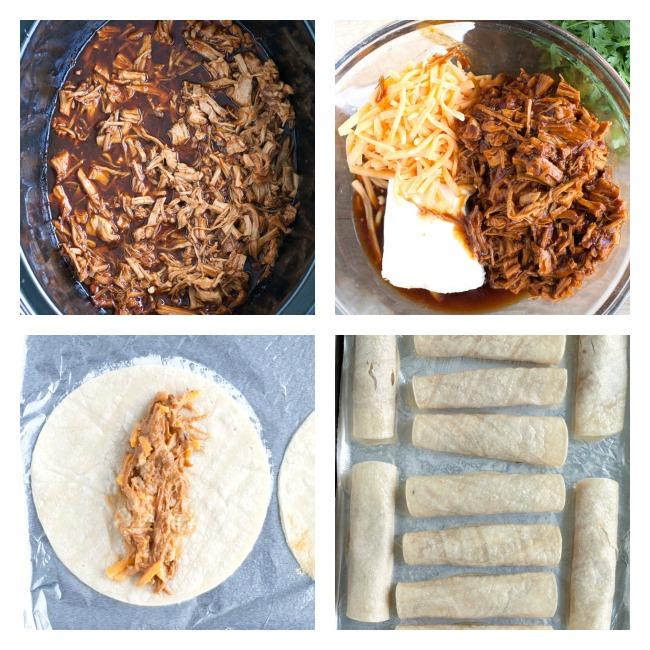 BBQ Taquitos Steps