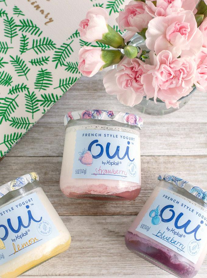 oui yogurt flavors