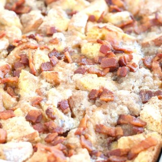 French Toast Bacon Casserole