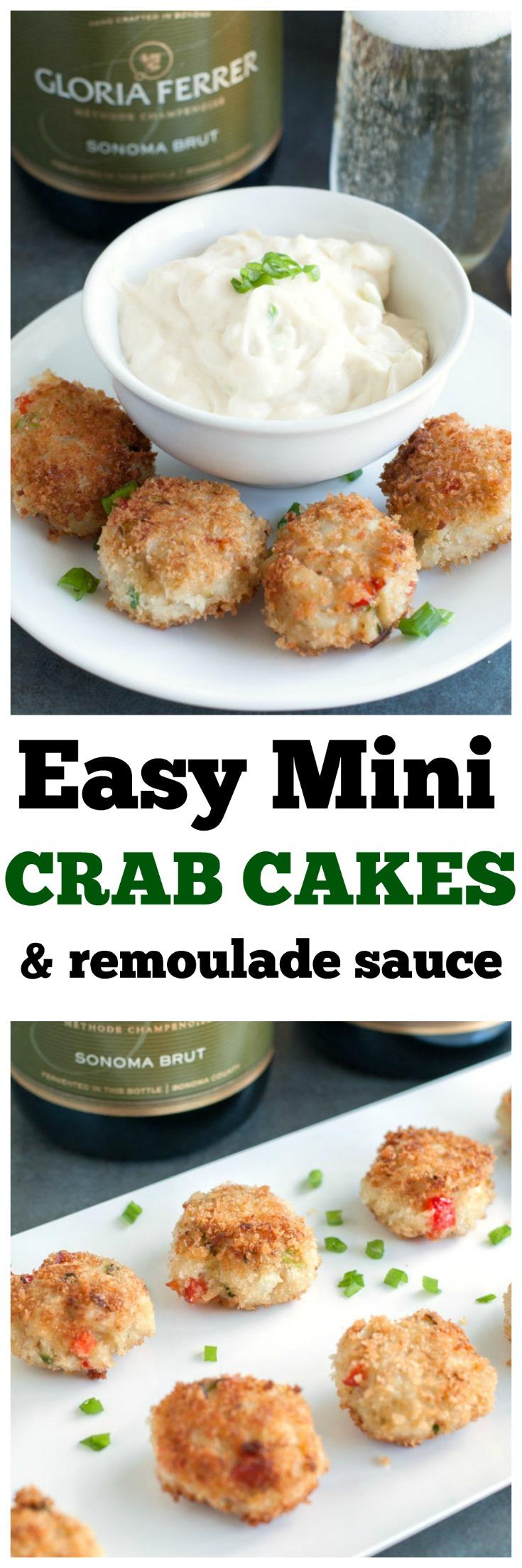 mini crab cakes PIN
