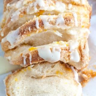 Orange Pull Apart Bread