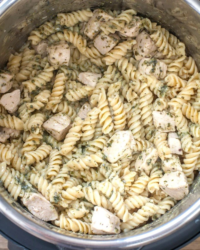 Chicken Pest Pasta Recipe
