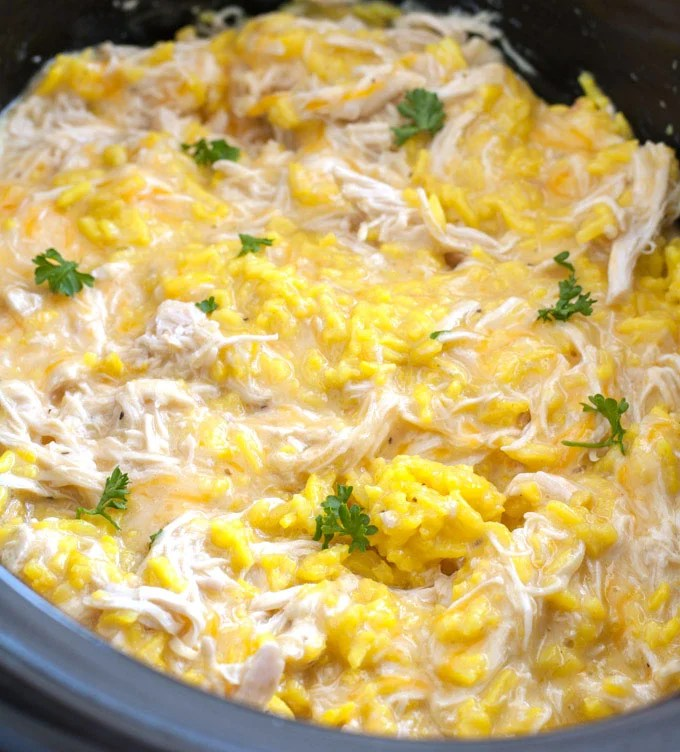 chicken wild rice crock pot recipes
