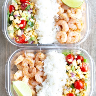 Cajun Shrimp Meal Prep