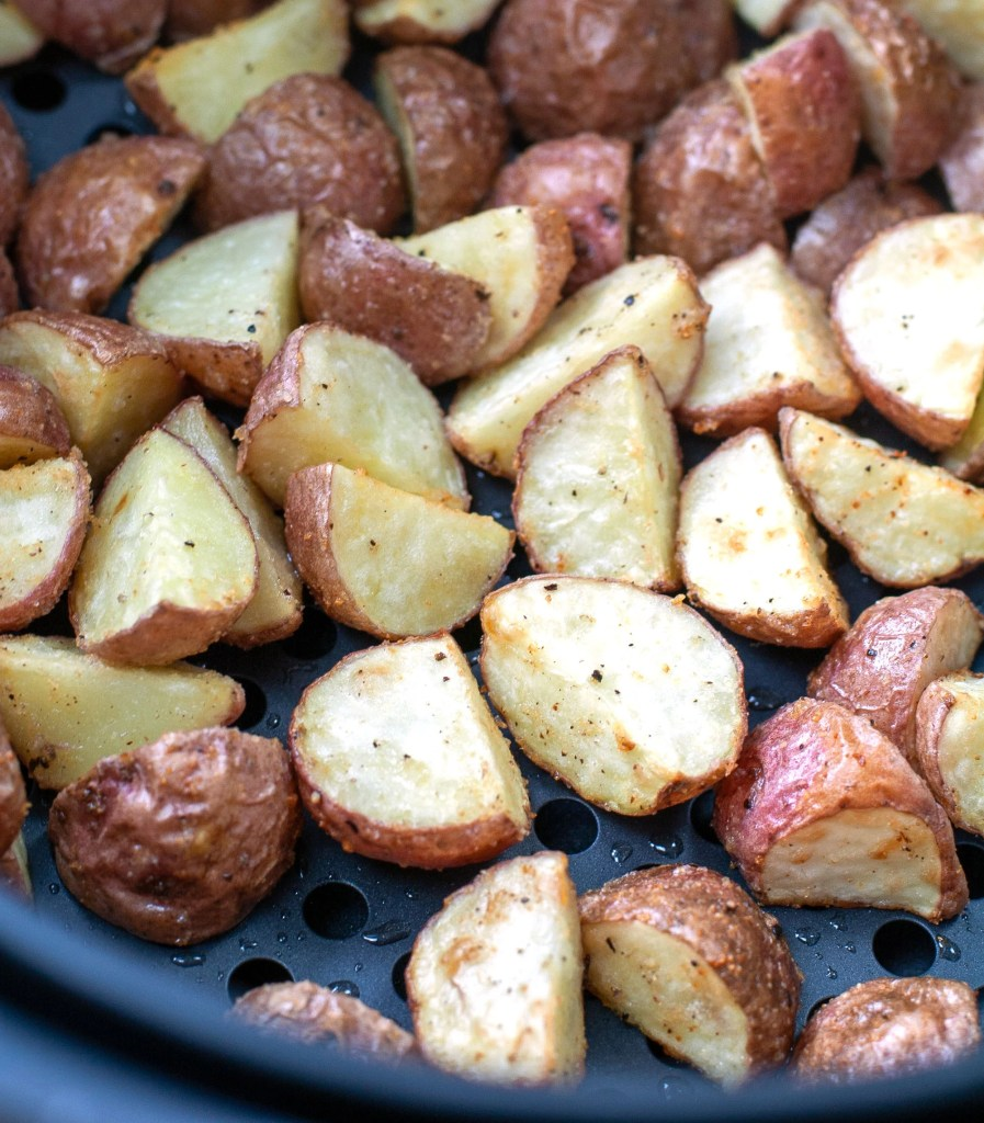 Roasted Red Potatoes in Air Fryer