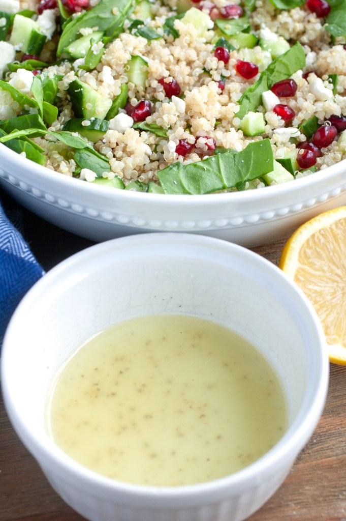 Dressing for quinoa salad