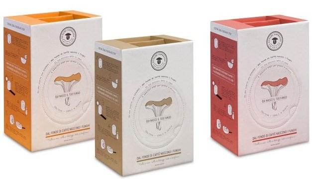 Con Funghi Espresso Produrre funghi con gli scarti del caffè si può