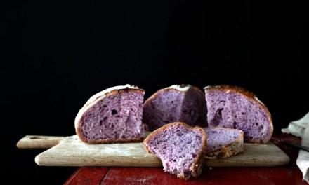 Da Singapore il pane viola che fa bene alla salute