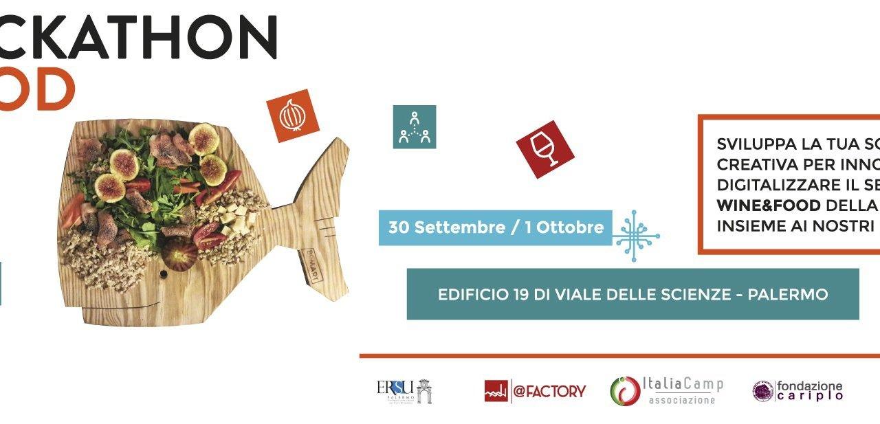 Si è svolto a Palermo: Hackathon Food