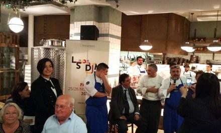La tappa francese di LSDM, inaugurata dai fritti italiani, si è conclusa con pizza e pasta, la tradizione che il mondo ci invidia.