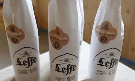 Leffe e la sua birra speciale per Norcia