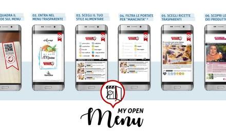 cucinaMancina presenta My Open Menu, la app per una tavola sana, trasparente e inclusiva