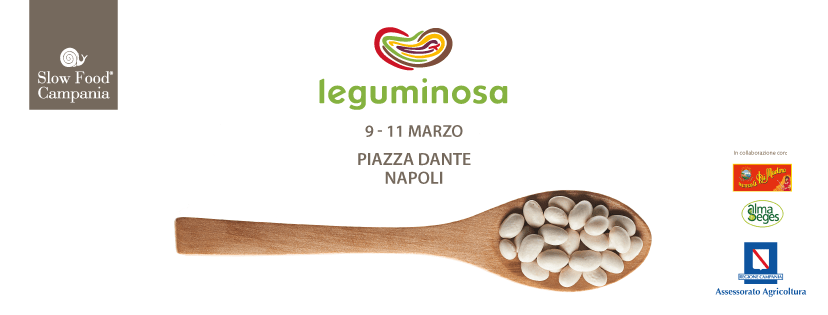 Slow Food torna a Napoli con Leguminosa 2018