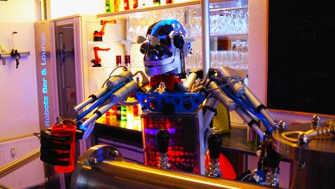 Robot o Baristi?