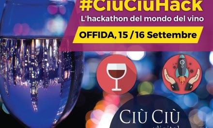 #CIÙCIÙDIGITAL –  Arriva  il primo HACKATHON dedicato al mondo del Vino