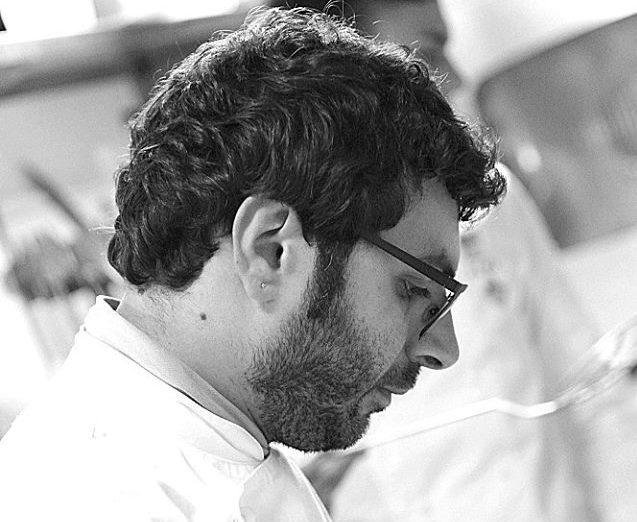 Lo chef Angelo Fabozzo e la sua cucina