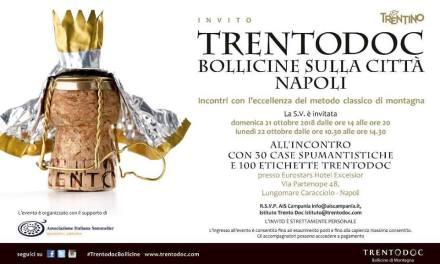 Trentodoc Bollicine sulla Città Napoli – 21 e 22 ottobre