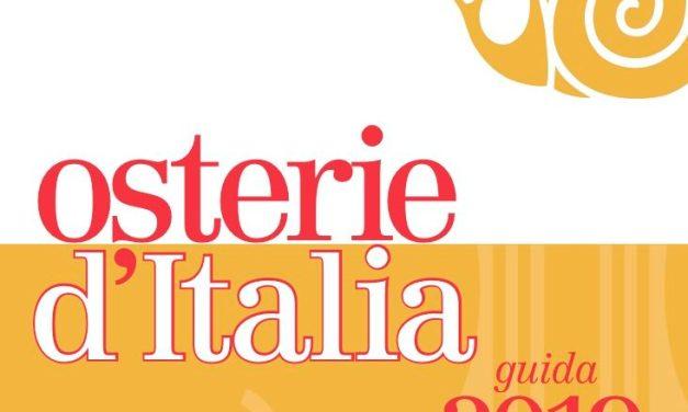 """Osterie d'Italia 2019: un decalogo, i premi speciali e la nuova """"bottiglia"""" tra le novità"""