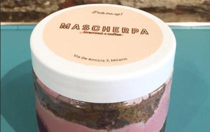 """Tiramisù ai Frutti di bosco in bicchiere By BY MASCHERPA """"TIRAMISU'+COFFEE"""" – MILANO"""