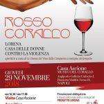 """Rosso Corallo: l'aperitivo a cura de Le Donne del Vino della Campania a sostegno del progetto """"Lorena Casa delle Donne contro la Violenza"""""""