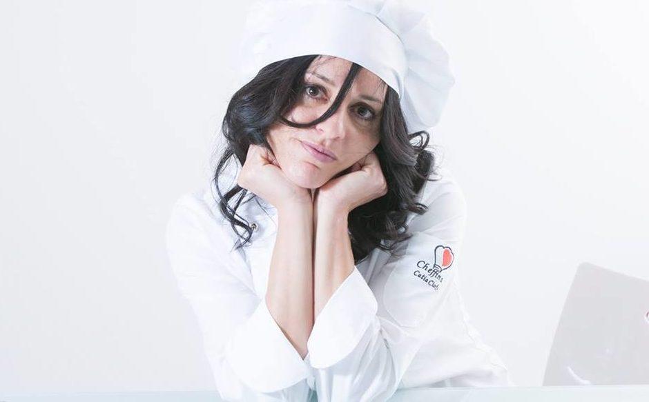 """Catia Ciofo la """"chef della passione"""""""