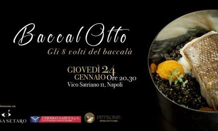 """24 gennaio alla Taverna La Riggiola """"BaccalOtto – gli 8 volti del baccalà"""""""