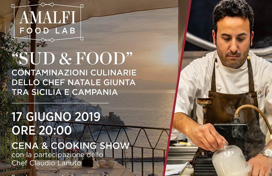"""NH Collection Grand Hotel Convento di Amalfi e chef Natale Giunta presentano """"Sud & Food"""", il terzo appuntamento del calendario gastronomico Amalfi Food Lab"""
